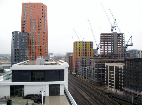 Image: Nine Elms, London is changing its appearance with contribution of Sipral