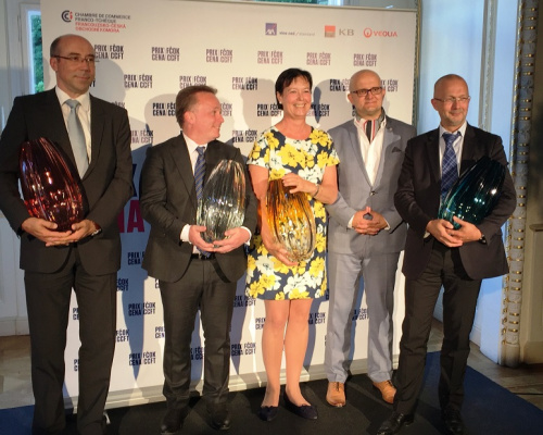 Image: French-Czech Chamber of Commerce awarded Sipral in the category Czech Design in France