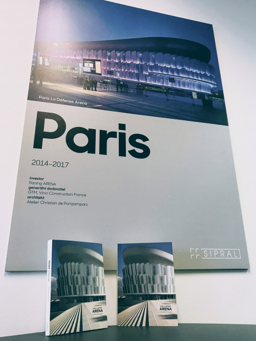 Sipral took part in origin of a french publication on Paris La Défense Arena - 2