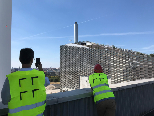 Sipral and Adam Gebrian made a documentary on the Copenhagen waste-to-energy-plant - 3