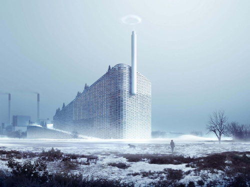 Image: Amager Bakke, a modern waste-to-energy plant by BIG Architects, awarded at European Steel Design Awards 2017