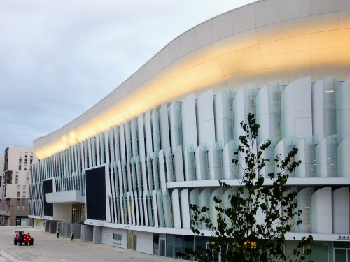 U Arena in Paris with a façade made by SIPRAL is opening its gates with a series of The Rolling Stones concerts - 2