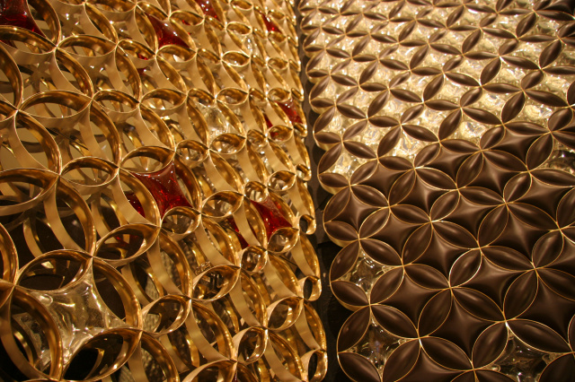 Decorative grille for Louis Vuitton